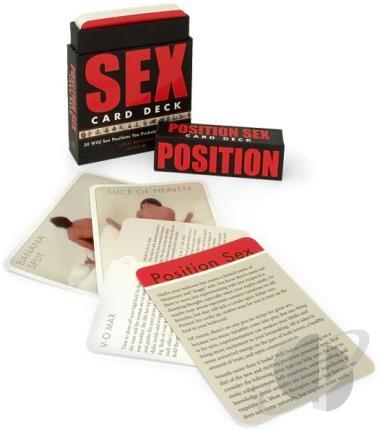 sex position card deck