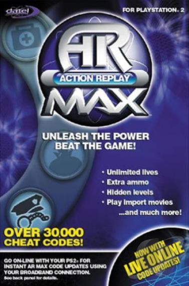 PS2 Action Replay Max Playstation