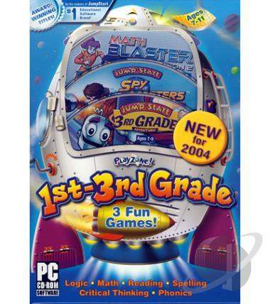 playzone 2004 1st 3rd grade pc game