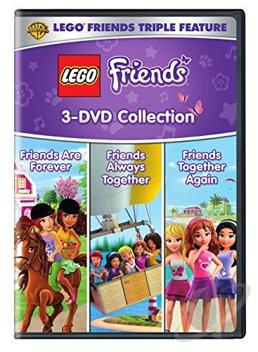 Lego Friends Triple Feature Dvd Movie