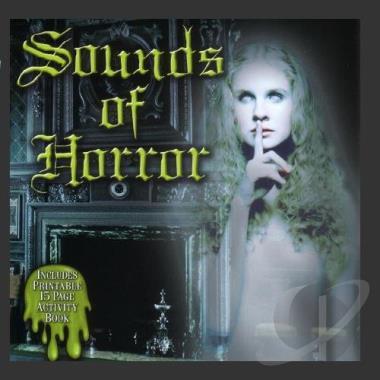 Sound Effects: Sounds of Horror Soundtrack CD Album