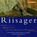 Riisager: Divertimento, etc / Danish String Quartet, et al