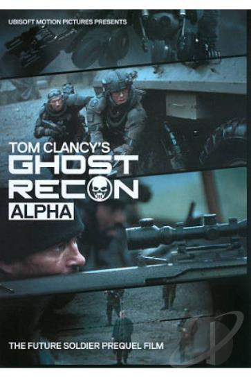 Tom Clancy S Ghost Recon Alpha Dvd Movie