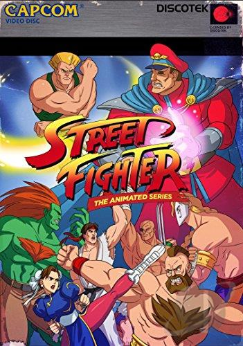 Street Fighter Ii The Animated Series Dvd Movie