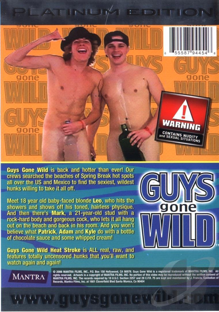 Guys Gone Wild Heat Stroke Cover Back