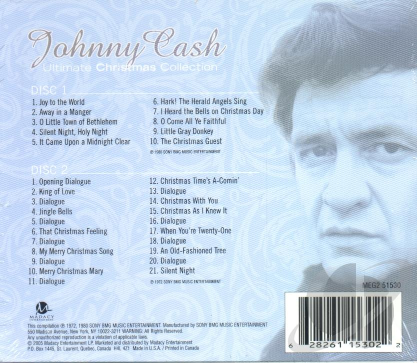 Johnny Cash - Ultimate Christmas Collection CD Album